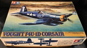 Американский палубный истребитель Vought F4U-1D Corsair (1:48)