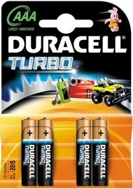 Батарейка DURACELL MN1500/LR6 BP4 TURBO