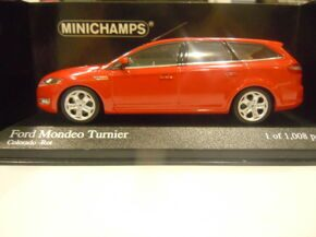 Ford Mondeo Turnier 2007 Red