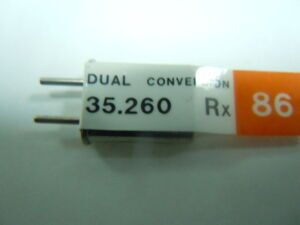 Кварцы 35.260 RX Type 35-10 Dual conversion 86