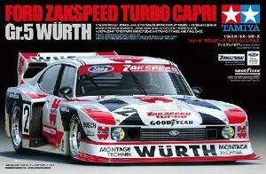 24329 Tamiya 1/24 Автомобиль Ford Zakspeed Turbo