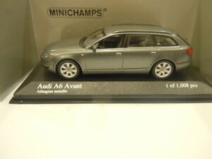 Audi A6 Avant 2006 Grey metallic