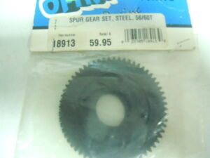 SPUR GEAR SET. STEEL. 56/60T OFNA 18913